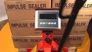 Тележка гидравлическая ручная c весами SAC-W20H(Тележка гидравлическая SAC-W20H - ручной вилочный подъемник со встроенными точными электронными весами для..., 2012-10-25T06:52:24.000Z)