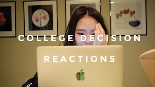 College Decision Reactions 2017 (Harvard, Princeton, UCLA & more)