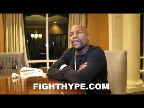 "FLOYD MAYWEATHER RESPONDS TO ADRIEN BRONER CALLING HIM OUT: ""THAT WAS THE BIGGEST JOKE OF THE NIGHT"""