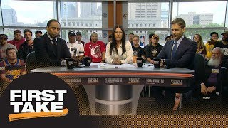 Stephen A. and Max react to new video of Cavaliers bench after JR Smith blunder | First Take | ESPN thumbnail
