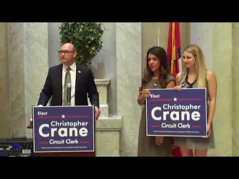 Lamar Davis Endorses Christopher Crane