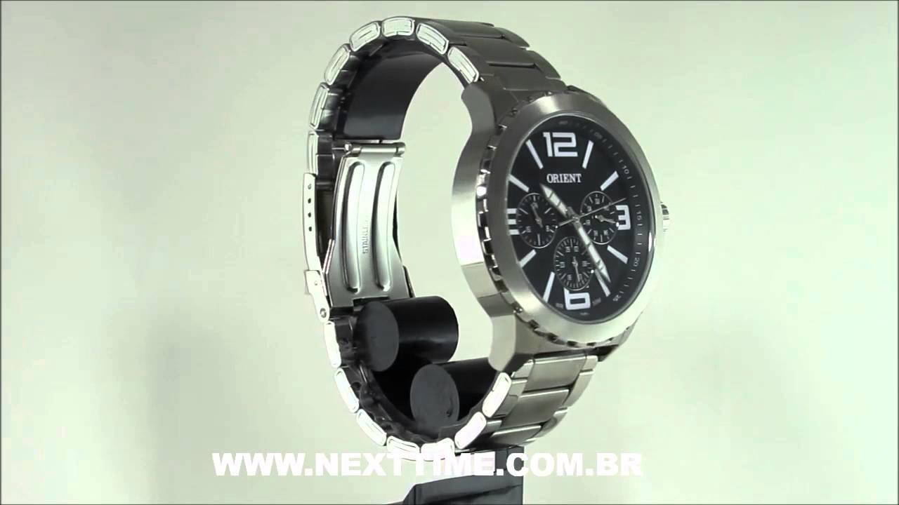 RELÓGIO ORIENT MASCULINO MBSSM047 P2SX. Relógios Nexttime d28fc516b1