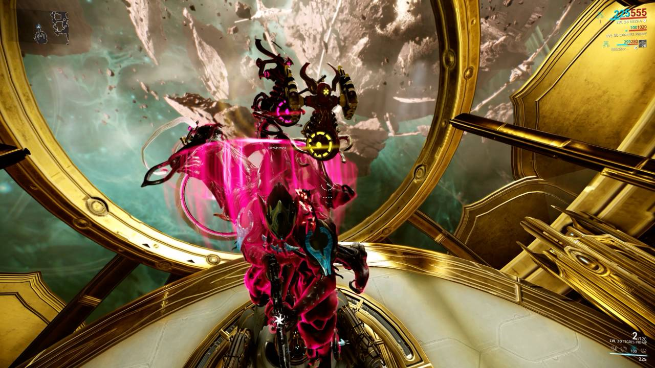 warframe disable the void mask