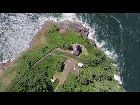 An Aerial View of Cape Meares