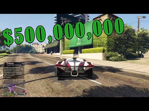 500 MILLION SPENDING SPREE!!!   Gta 5 Online