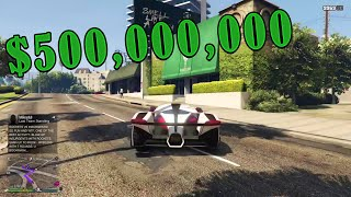 Video 500 MILLION SPENDING SPREE!!! | Gta 5 Online download MP3, 3GP, MP4, WEBM, AVI, FLV April 2018