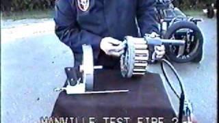 Manville Machine Gun Flare Gun