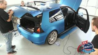 Design-freiburg.com Carwrapping Golf R32
