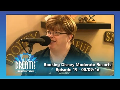 Booking Disney Moderate Resorts | 05/09/16