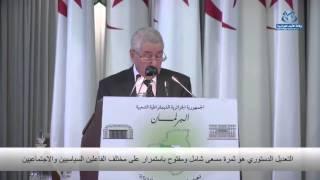 رئيس الجمهورية: التعديل الدستوري غايته الوصول إلى توافق بشأن تكريس الديمقراطية
