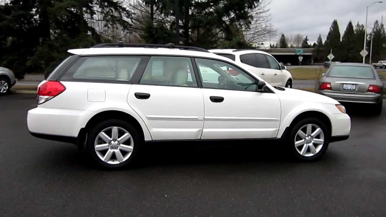 File:2009 Subaru Outback 2.5i -- 11-23-2009.jpg ... |2009 Subaru Outback