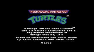 Commodore 64 Longplay [151] Teenage Mutant Hero Turtles (EU)