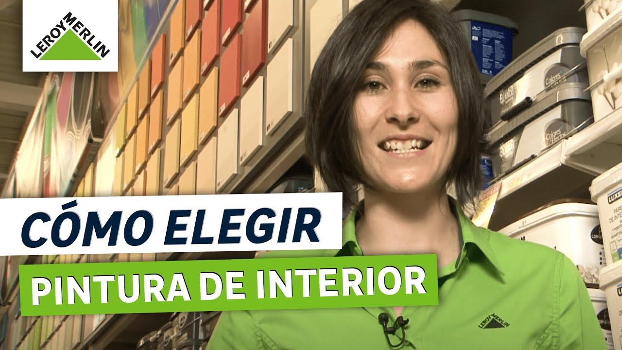 C mo elegir pintura de interior leroy merlin youtube for Pintura aislante acustica leroy merlin