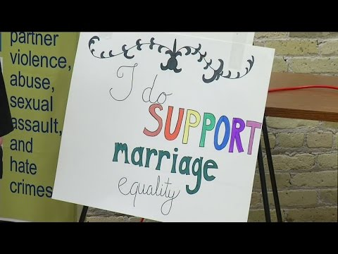 Wisconsin couples to rally for gay marriage