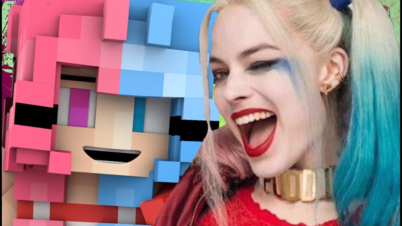 Minecraft Skin Harley Quinn - Harbolnas e