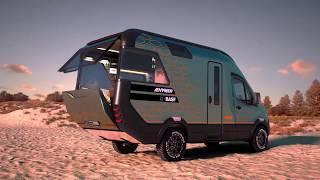 Hymer Vision Venture Technikanimation | Wohnmobile | 3d-Animation | Pixerto