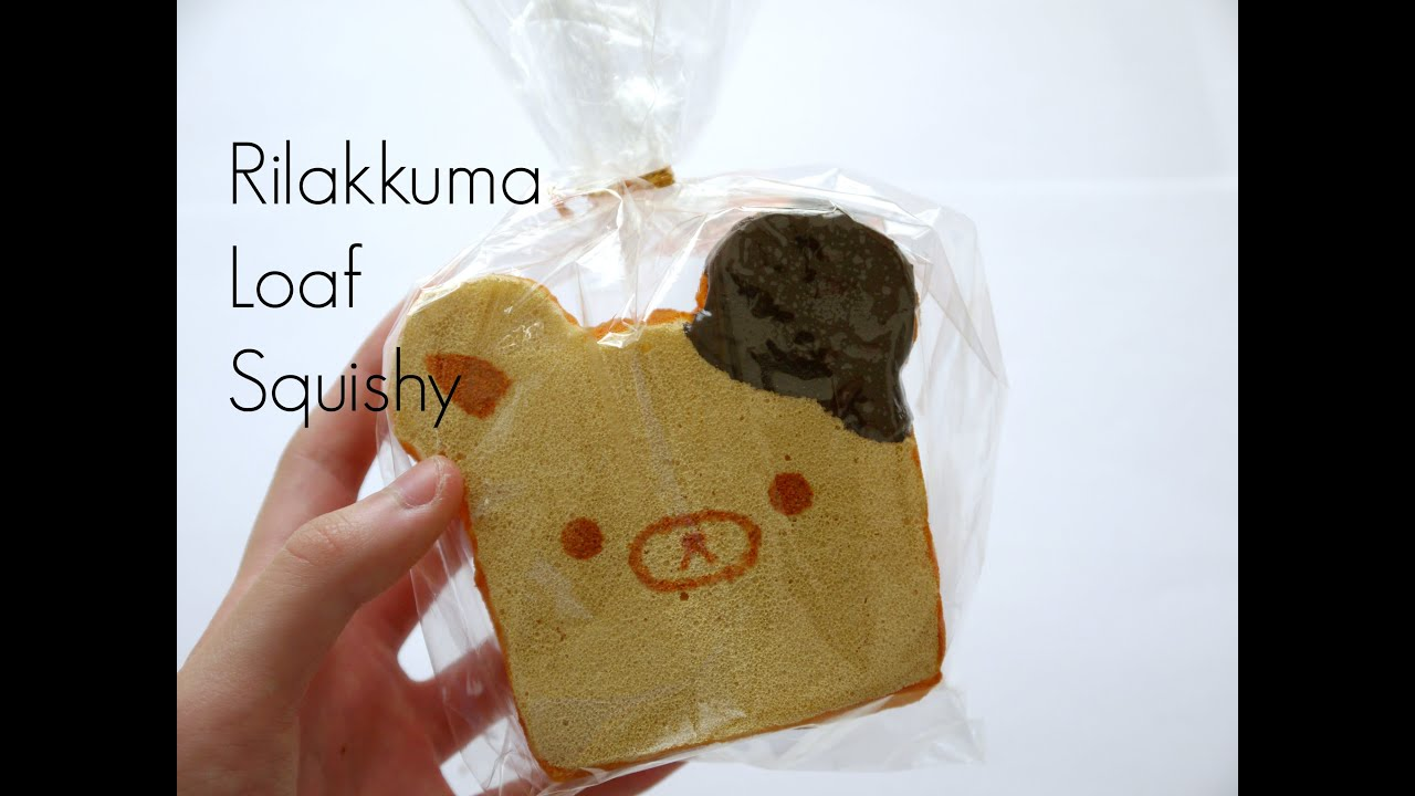 Squishy Loaf Of Bread : Rilakkuma Bread Loaf Squishy Tutorial - YouTube