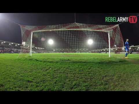 Go Pro Camera - Cork City 1-0 Sligo Rovers
