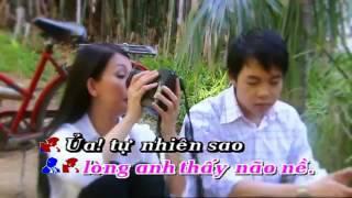 Tinh nho mau quen - Quang Le & Huong Thuy [Karaoke ]