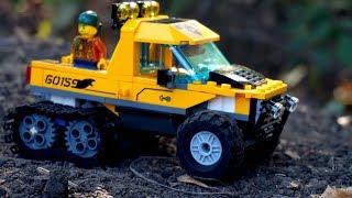 Вездеход - Лего Машина. Игрушечные Машинки. Эвакуатор. Видео Для Детей