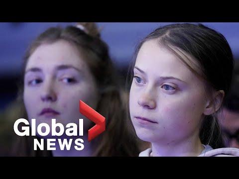 "Greta Thunberg Hosts World Economic Forum Debate On ""averting A Climate Apocalypse"""