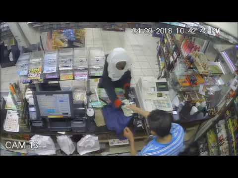 Video captures armed robbery at Central City convenience store