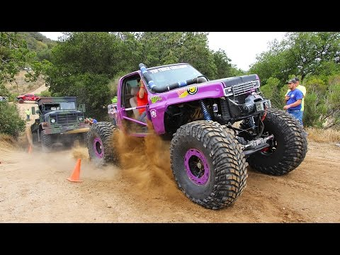 The Tow Test and Frame Twister! - Top Truck Challenge 2015