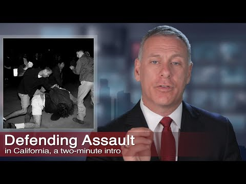Los Angeles Assault Crimes Criminal Defense, Kraut Law Group