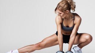 Аэробика для похудения.  Фитнес упражнения дома.