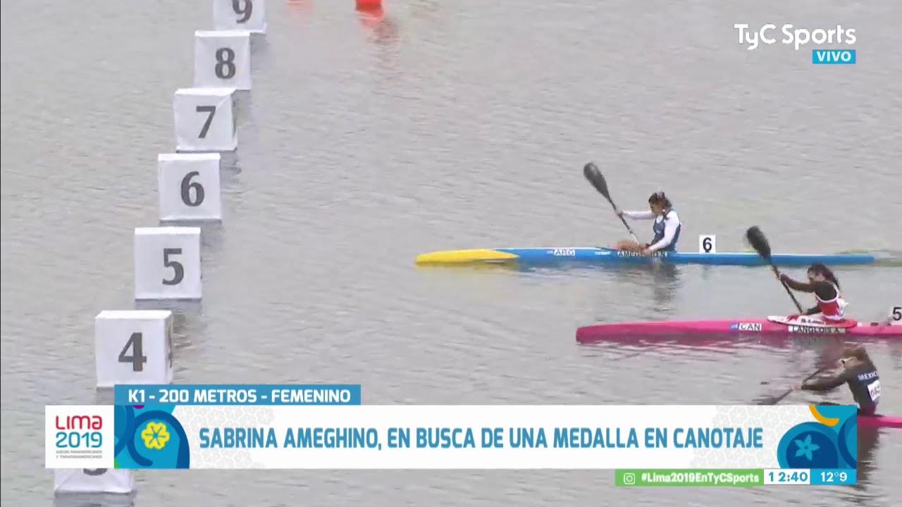 Canotaje: Sabrina Ameghino, campeona panamericana - YouTube
