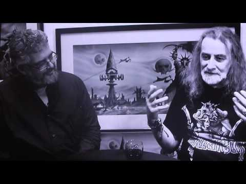 Mark D. Faith and Rodney Matthews, Interview on new Nazareth band DVD