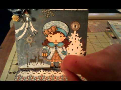 Xmas card #11 Xmas lantern marci