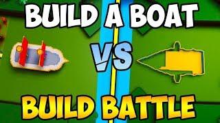 FUZION vs JESSETC (BUILD BATTLE) | Build a boat ROBLOX