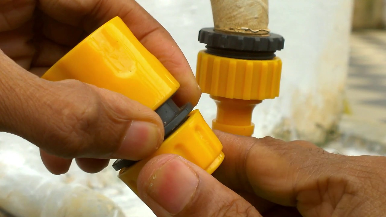 Tap Adapter For Garden Hose How To Connect Youtube