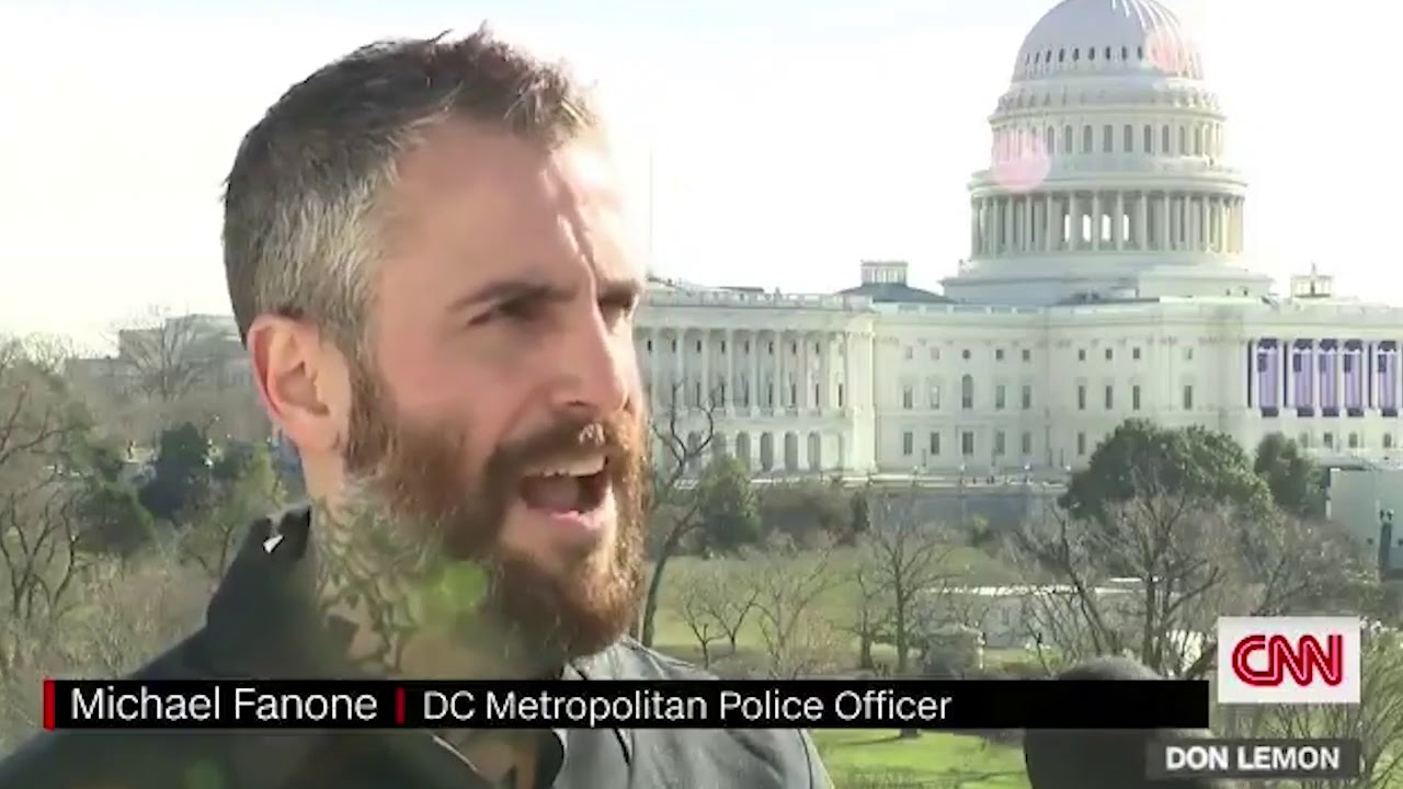 """Kill Him with His Own Gun"""": DC Officer Michael Fanone Describes Being  Outnumbered and Facing Mob - YouTube"""