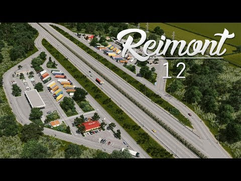 Cities Skylines: Reimont | Episode 12 - Rest Area