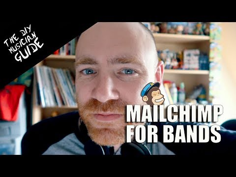 How to make Email Newsletters for your Band with Mailchimp | The DIY Musician Guide