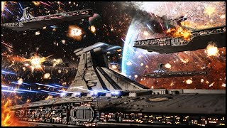 The Republic Fleet in FLAMES! - Star Wars EAW: Fall of the Republic 9