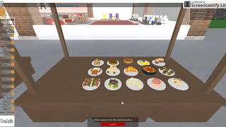 Hannah plays Roblox Restaurant Tycoon!