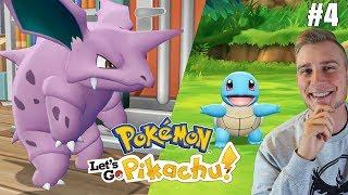 Wizyta u Billa i łapanie Starterów! (Pokemon Let's GO Pikachu ! odc. #4)