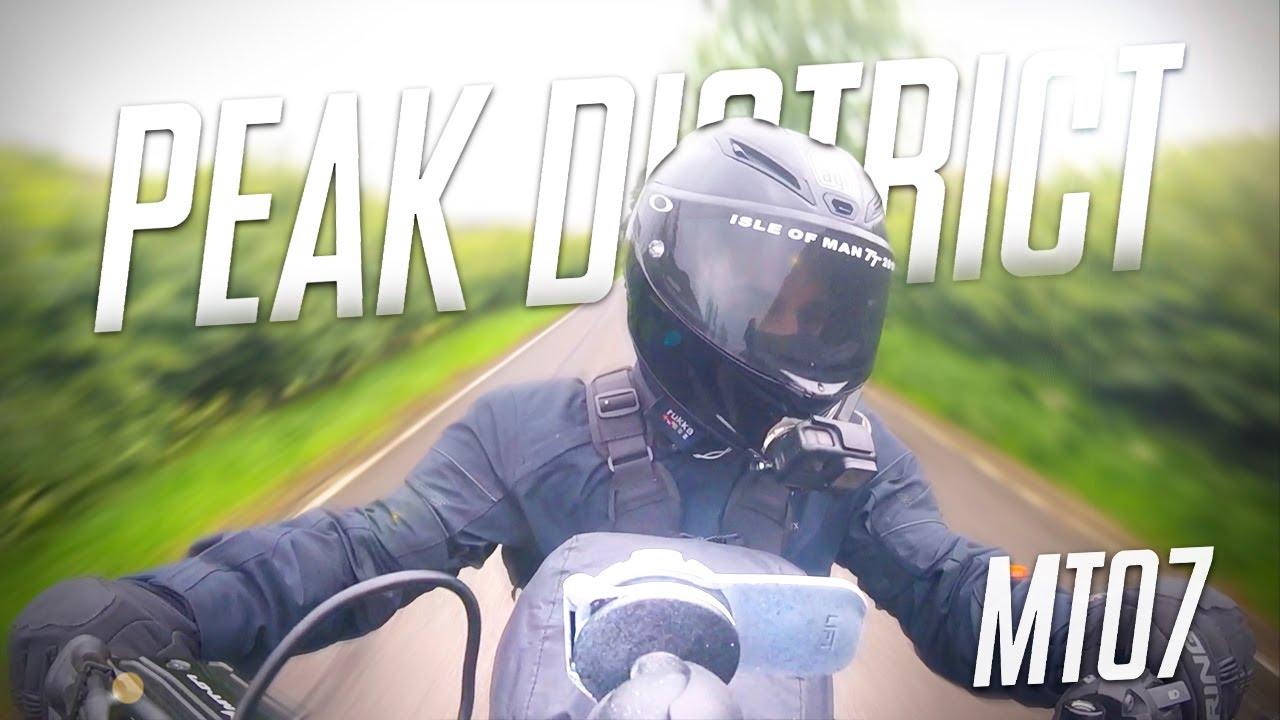 Yamaha MT07 | Exploring the Peak District! | (2020)
