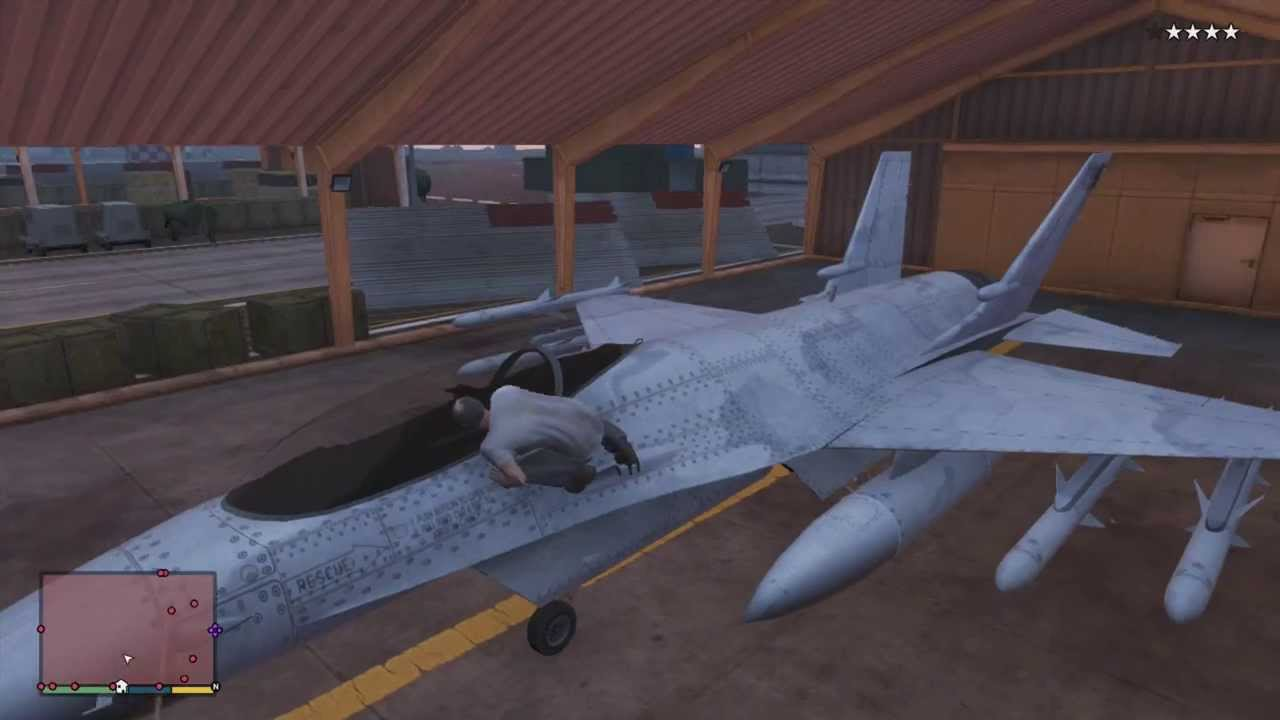 Gta 5 - How To Get A Jet Fighter And Titan! - YouTube