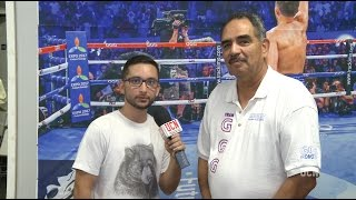 Abel Sanchez Interview - Golovkin vs. Brook Media Workout