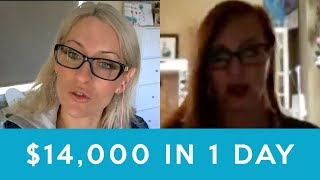 Kristene made $14,000 in 1 day with her handmade business - how to start a home business, reviews
