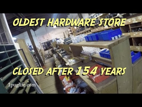 canadas oldest hardware store closes its doors after 154 years