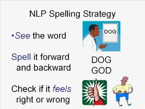 Learn How to be a Great Speller with the NLP Spelling Strategy