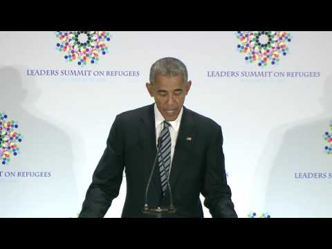 President Obama's Opening Remarks at Leaders' Summit on Refugees