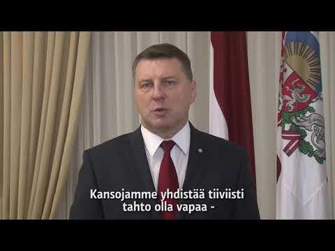 Latvia, President Raimonds Vējonis