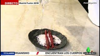 Gambar cover El chef Ángel León nos descubre un experimento para convertir el agua del mar en sal