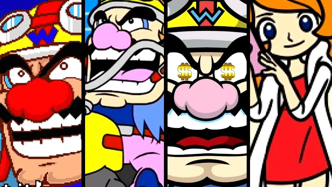 WarioWare ALL INTROS 2003-2018 (Gold to GBA)